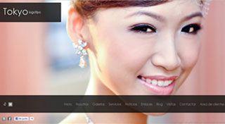 Web para Fotógrafo Tokyo